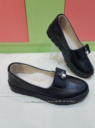 Школьные кожаные туфли k. pafi 737-36