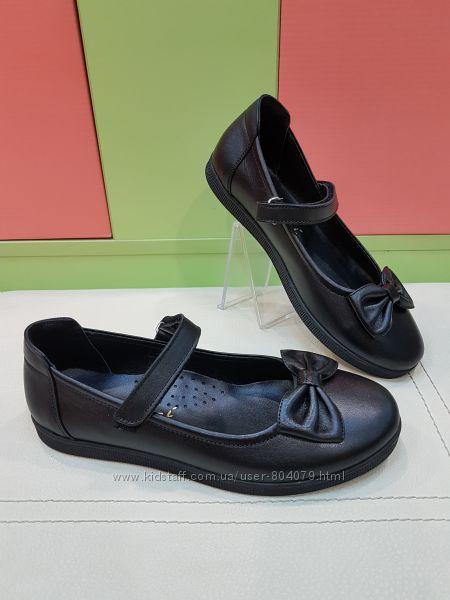 Школьные кожаные туфли Bayrak 3077