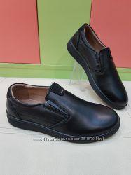 Школьные кожаные туфли KangFu C1652-2