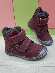 Кожаные зимние ботинки DDStep 049-909EM
