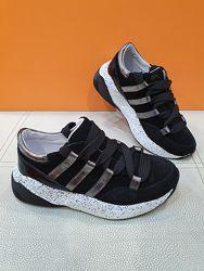 Кожаные кроссовки Masheros 33-38р 3513