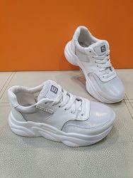 Кожаные кроссовки Santegros 32-37р 618