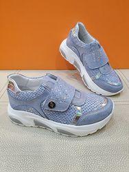 Кожаные кроссовки K. Pafi 31-36р 77-085