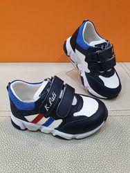 Кожаные кроссовки K. Pafi 21-25р 3006