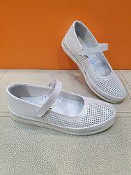 Кожаные туфли K. Pafi 31-36р 788-162