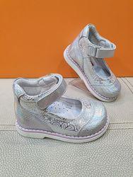 Кожаные туфли Polipeys 21-25р Ортопед P20-40