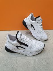 Кожаные кроссовки Masheros 32-38р 2522