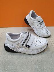 Кожаные кроссовки Masheros 32-37р 259