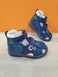 Кожаные сандали Tutubi 21-25р Ортопед 209-07