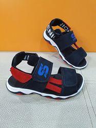 Кожаные сандали Santegros 28-39р П17