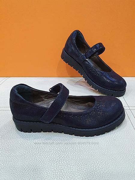 Кожаные туфли BeyBu 31-36р 2050