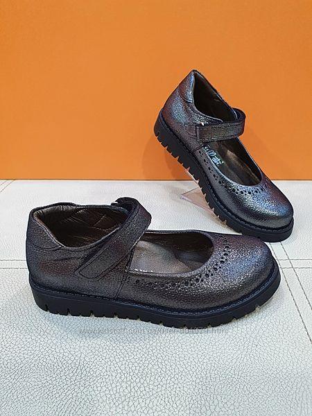 Кожаные туфли BeyBu 31-36р 2025