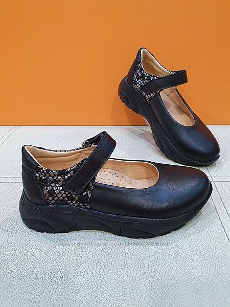 Кожаные туфли Bayrak 31-36р арт 2015