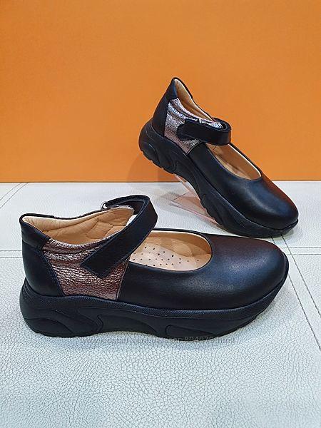 Кожаные туфли Bayrak 31-36р 2045