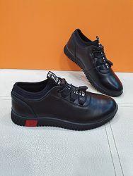 Кожаные туфли KangFu 31р C1751-2