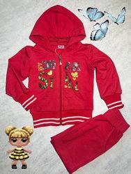 Спортивный костюм на девочку 2-3 года