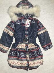 Куртка зима на девочку. Очень теплая