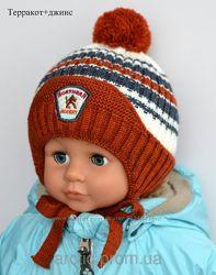 Шапка зима на мальчика 1,5-2 года