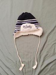 Зимняя шапка на овчине