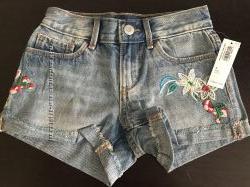 джинсовые шорты Олдневи 6, 8, 10, 12, лет