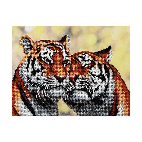 Преданность. Пара тигров - набор для вышивания бисером