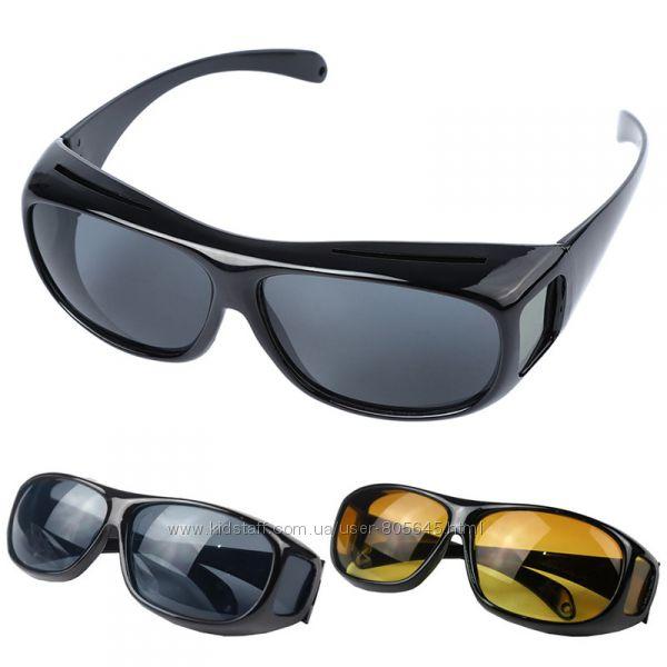 Поляризованные очки HD Vision Wrap Arounds