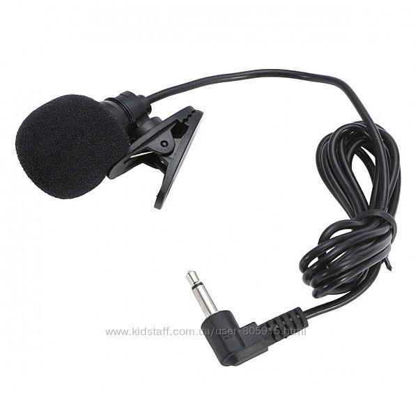 Петличка микрофон для ноутбука/ПК смартфона на прищепке 3.5 петличка mic По