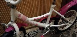 Велосипед Азимут для дівчинки