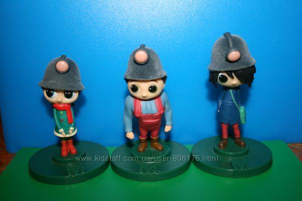 Куклы игрушки фигурки шахтеры коллекционные