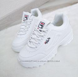 Кроссовки женские F-la белые.