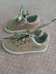Кроссовки мокасины для девочки