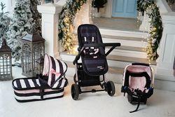 Продам коляску cosatto 3в1 детское кресло, люлька и прогулка