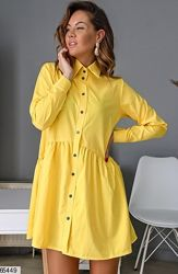 Пышное платье рубашка