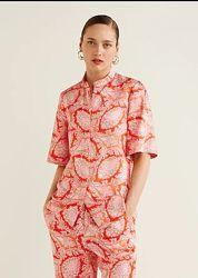 Шикарная блуза рубашка mango