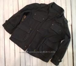 Крутая котонновая куртка для стильного мальчика Ted Baker