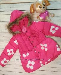 Красивая зимняя курточка для девочки