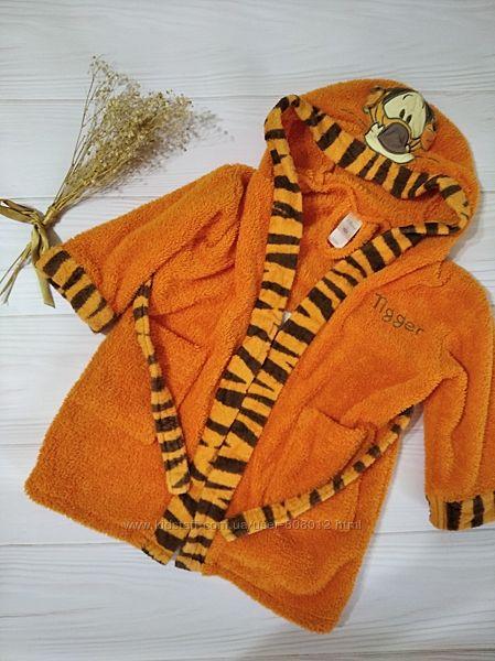 Милый махровый халат с Тигрой Disney