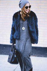 Меховая деми курточка шубка Zara