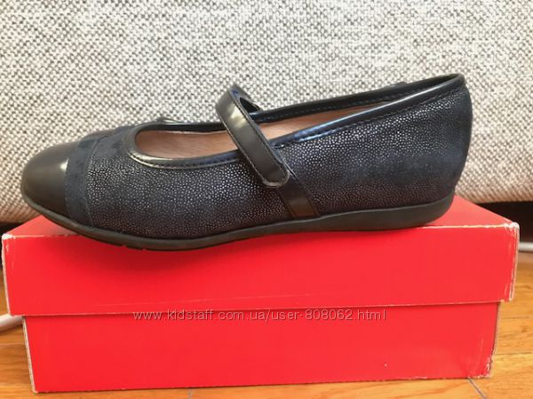 Синие туфли для девочки Garvalin 33 р