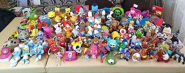 игрушки макдональдс