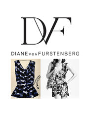 Платье - туника бренд Diane Von Furstenberg