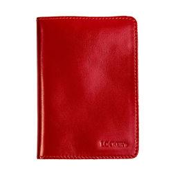 Екрануюча обкладинка для біометричного паспорта червоний Locker Pas2 Red