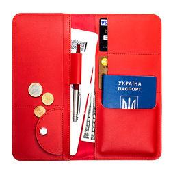 Тревел-кейс з RFID захистом Locker Travel Red