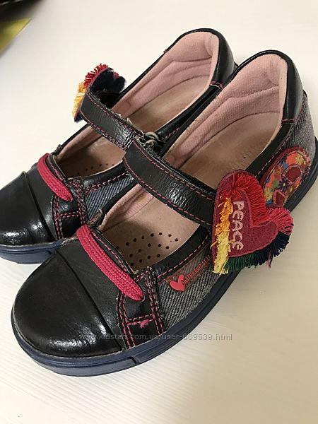 Очень удобные туфли-макасины Agatha Ruiz de la Prada