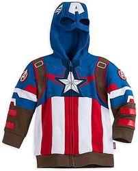 Худи кофта карнавальный костюм Капитан Америка