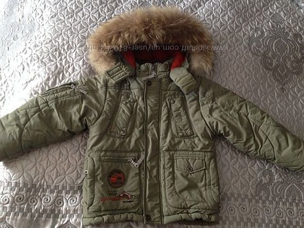 Продам зимнюю куртку DONILO р. 110 см