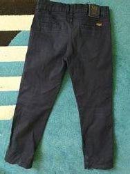 Фірмові сині брюки повненькому хлопчику