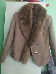Шикарное пальто дёшево