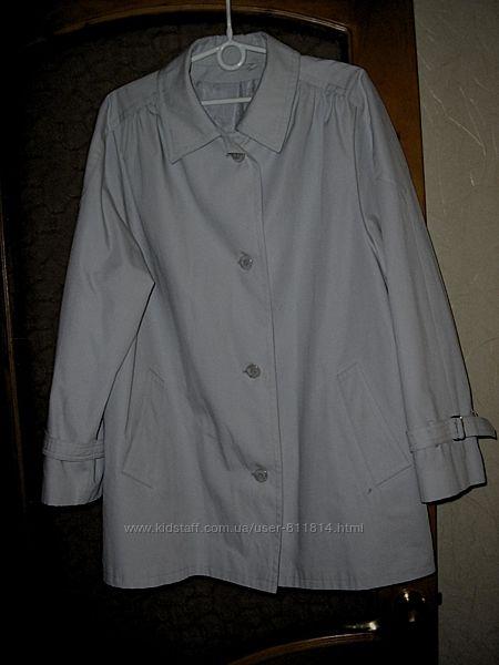 куртка ветровка плащ 52-й размер