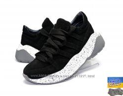 Замшевые стильные кроссовки. Арт. 3513 черный